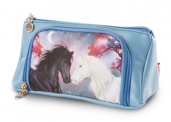 Multi-functional pouch horse Winnie and Hilde