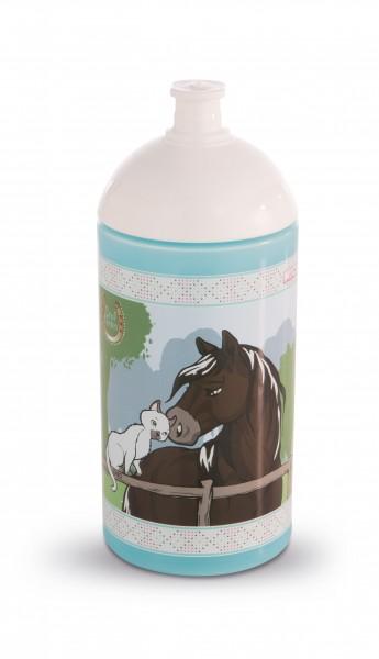 Trinkflasche Pferde