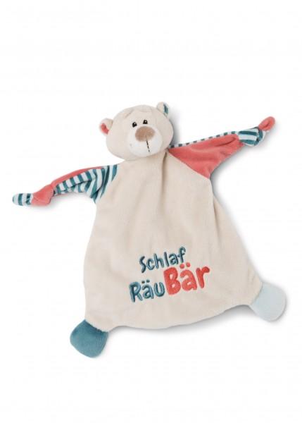 Comforter bear 'Schlaf RäuBär'