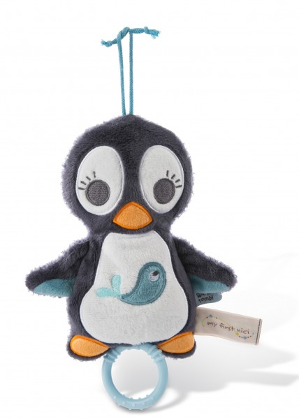 Musical Soft Toy Penguin Watschili