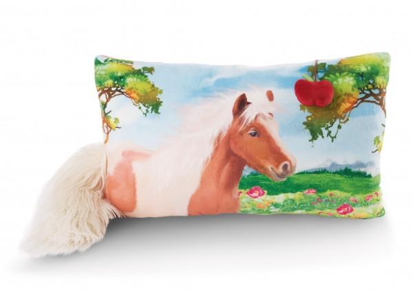 Rechteckiges Kissen Pony Lorenzo