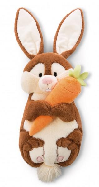 Figural Cushion Bunny Poline Bunny with Carrot