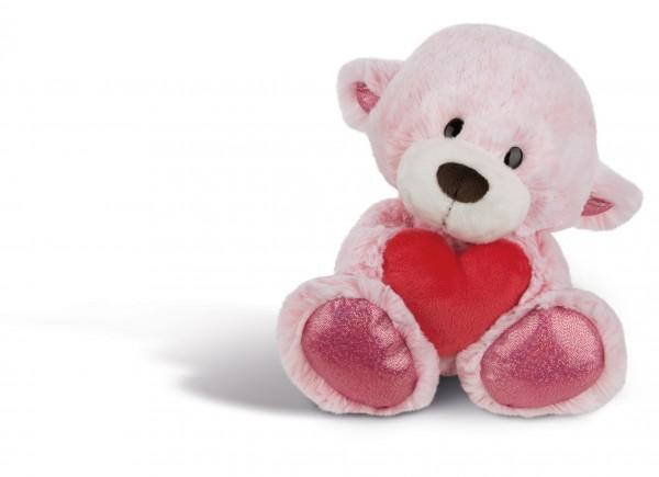 Kuscheltier Love Bär Mädchen mit Herz