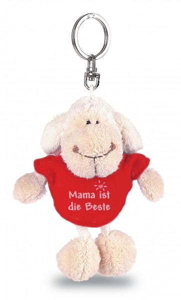 """Schlüsselanhänger Jolly Mäh mit T-Shirt """"Mama ist die Beste"""""""