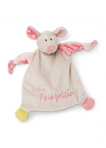 Schmusetuch Maus 'Kleine Prinzessin'