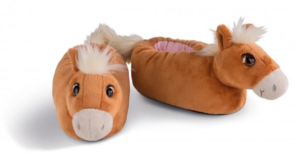 Hausschuhe Pferd Leotie