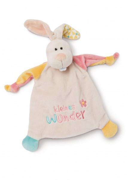 Schmusetuch Hase 'kleines Wunder'