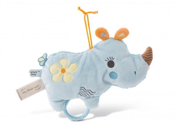 Musical Soft Toy Rhino Manuffi
