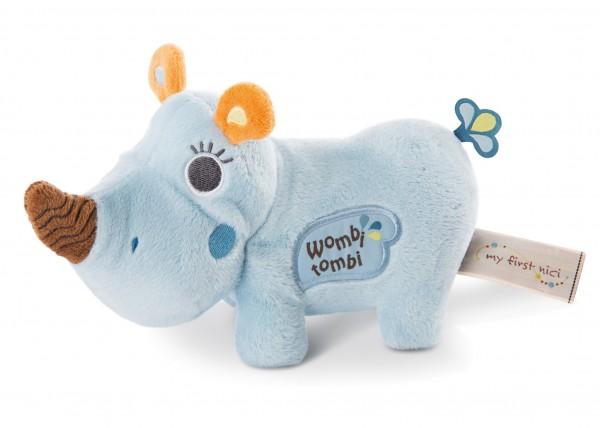Standing Plush Toy Rhino Manuffi