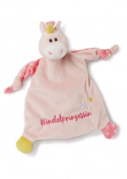 Comforter unicorn 'Windelprinzessin'