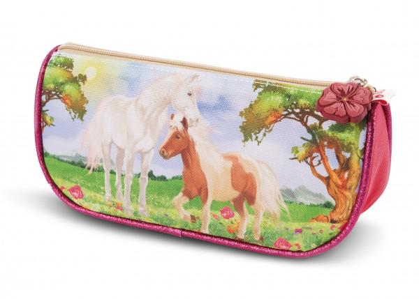 Stiftemäppchen Pony Lorenzo und Pferd Winnie